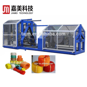 pp hdpe plastic rope making twisting machine