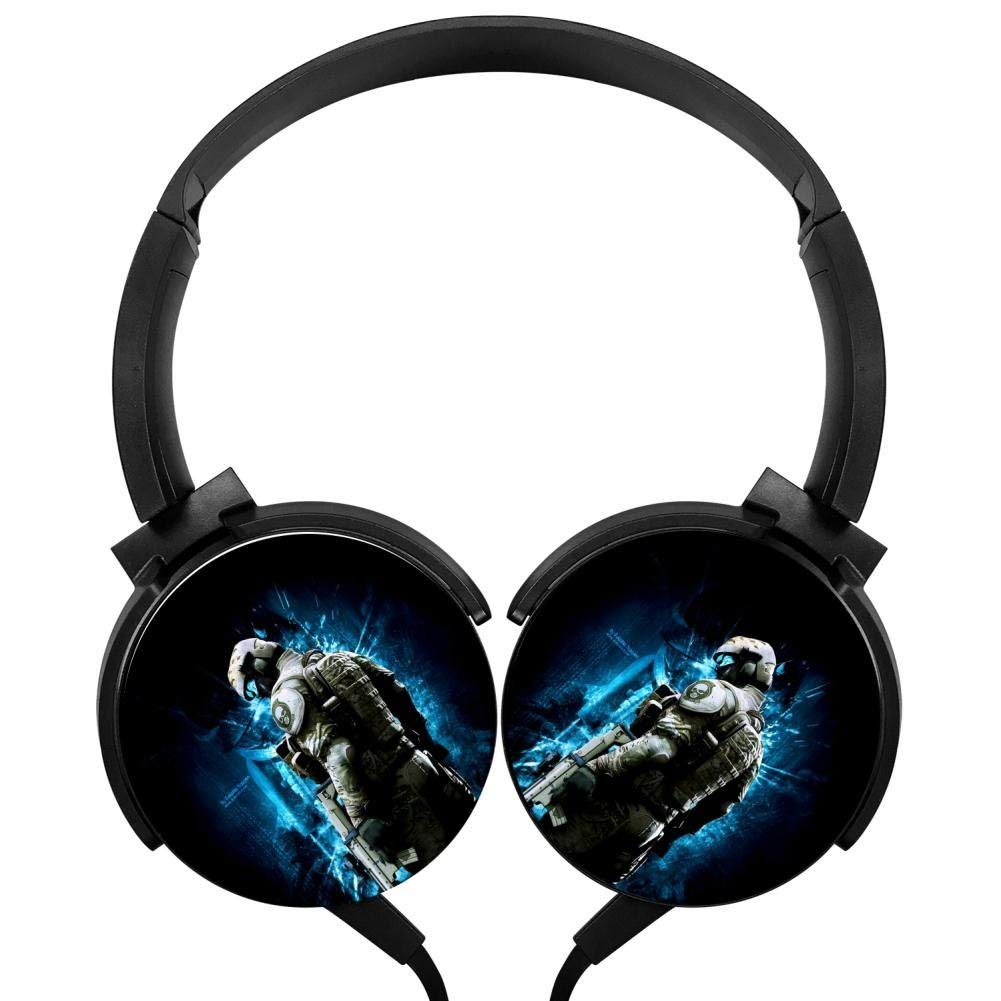 Xerjij Cool Universe Wired Stereo Headset Bass Headphones for Computers Mobile Devices