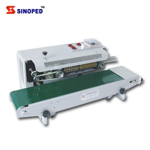 Brother Packing Continuous Band Sealer Bag Sealing Machine With Solid Printing