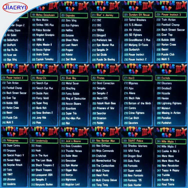 New Arrival Classical Games Multi Arcade Game Board,Blue Elf Multi ...