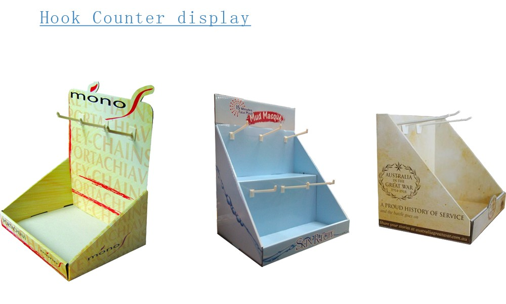 Kitchen Ware Promotion Template Cardboard Display Pop Up Stand