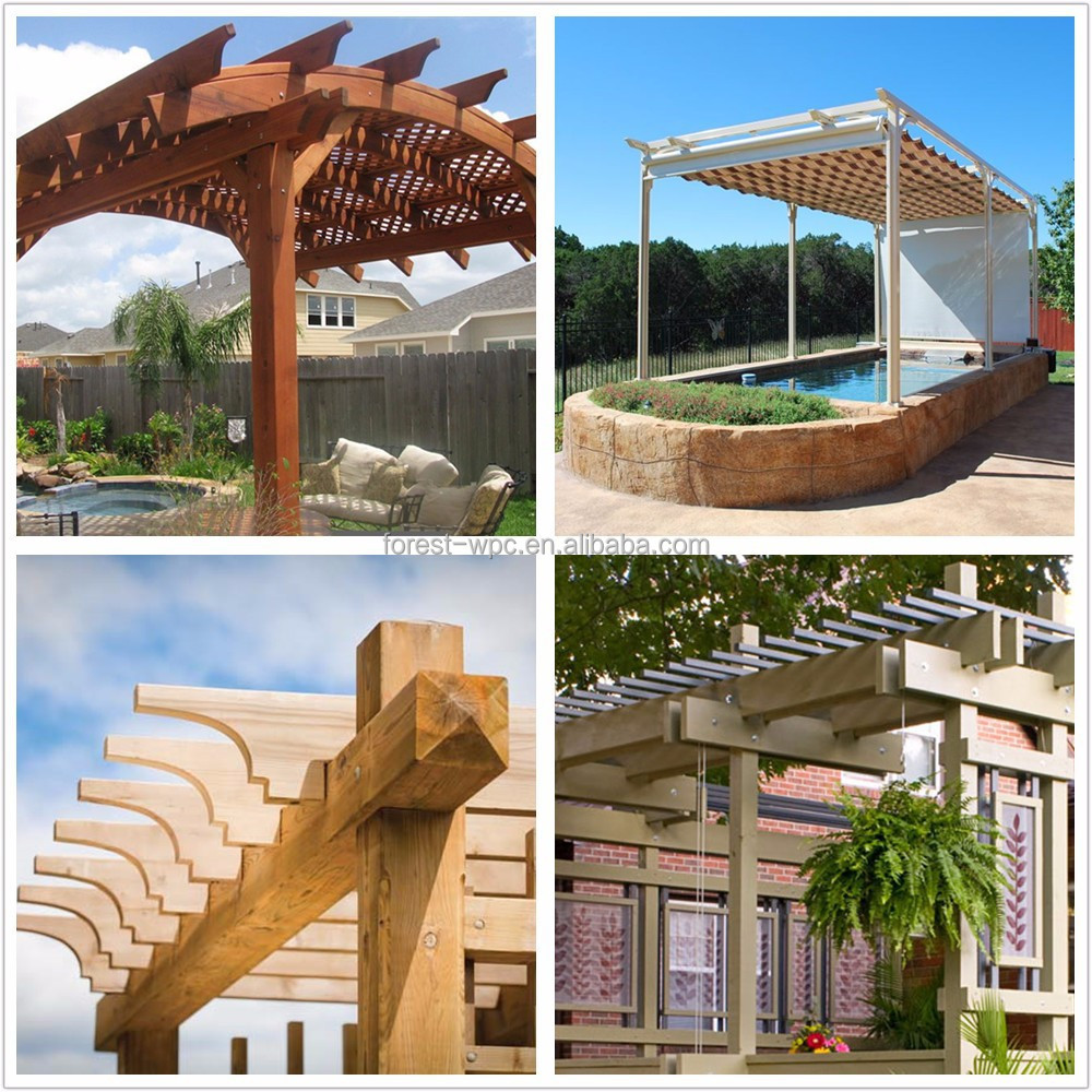 Komplett Neu Kunststoff-dach Pavillons flach Dachgarten pavillon luxus  UV02