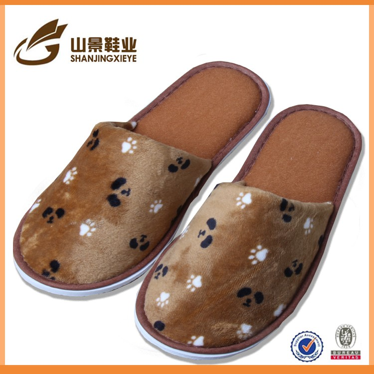washable spa cotton travel disposable hotel slippers