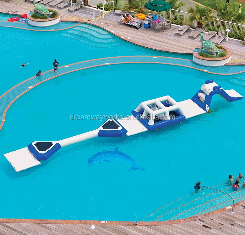 Quality assurance inflatable water obstacle course for Pool floats design raises questions
