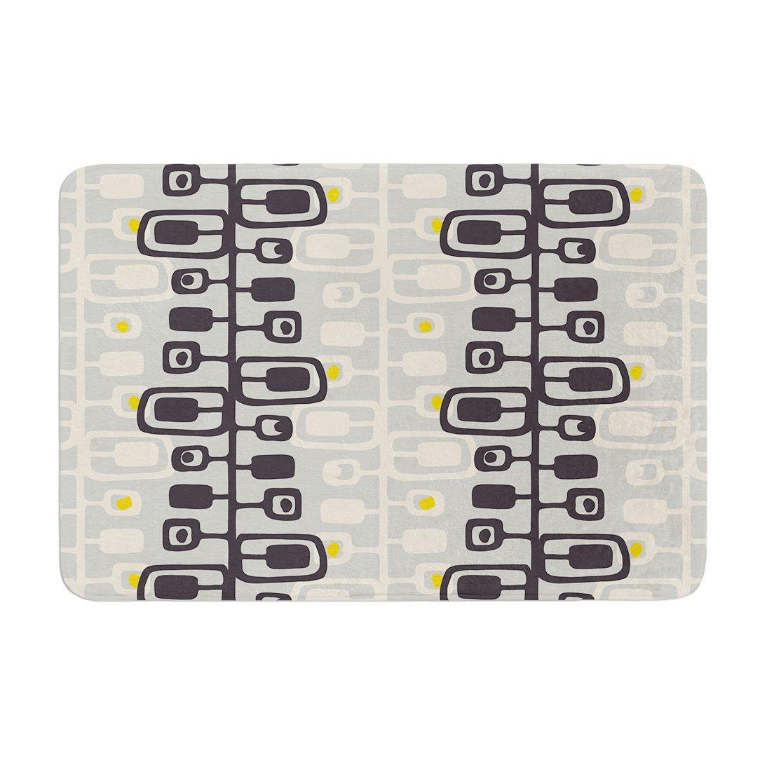 "KESS InHouse GE1016ABM02 Bath Mat Gill Eggleston ""Carnaby"" Memory Foam Bath Mat, 24"" X 36"",,"