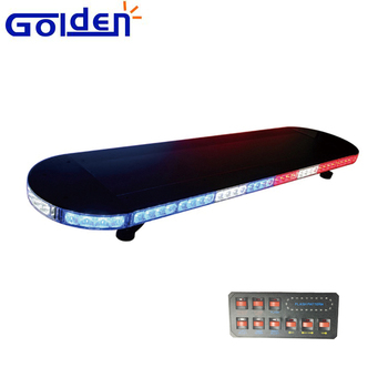 Police red blue low profile lightbar linear tir shaped led light police red blue low profile lightbar linear tir shaped led light bar for construction vehicle mozeypictures Image collections