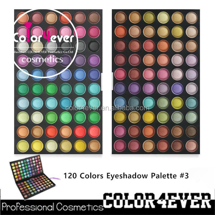 Wholesale direct marketing mineral organic eyeshadow 120colors makeup palettes buy cosmetics wholesale