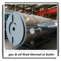 Light oil or Nature Gas fired thermal oil heater for vulcanizing machine