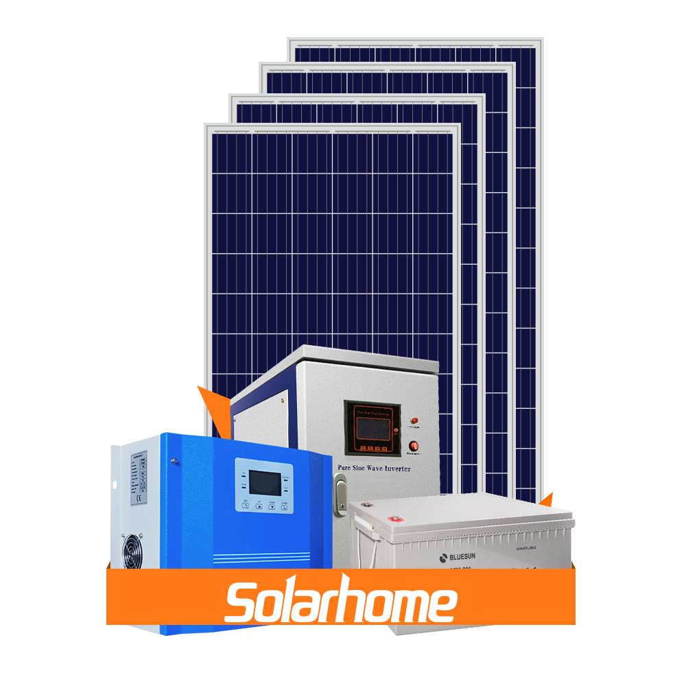 Lower 3000w home solar system india price off grid solar system 3kw with battery