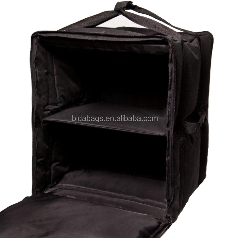 China Supplier Custom Insulated Pizza Delivery Bag Trunk Organizer With Cooler Product On