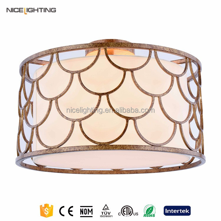 outdoor iron garden ceiling shade hanging ceiling lamp