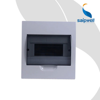 SAIP/SAIPWELL Hot Sales 150*200*66mm 6 Ways Anticorrosive Electronic Flush Mounting Distribution Board