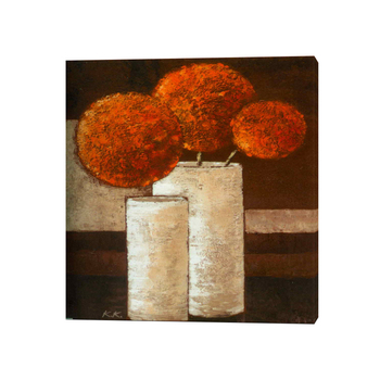 Handmade Modern Painting Flowers Vases Canvas Oil Paintings For Living Room  Decor Part 47