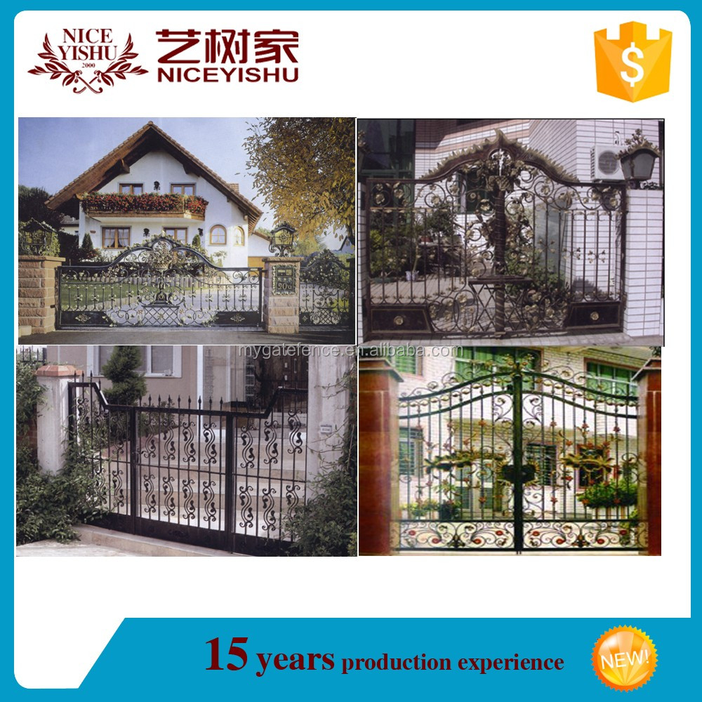 Modern iron gate designsmain gate design home backyard iron gate