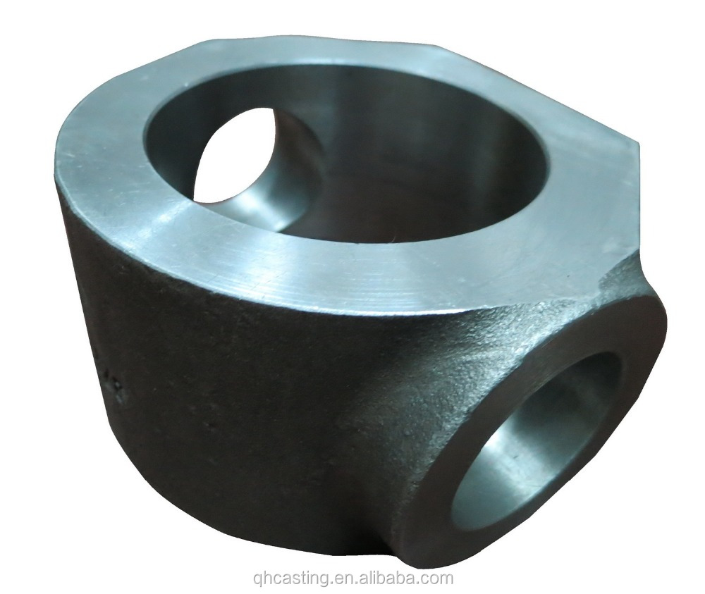 Water glass process investment truck casting parts for Japan