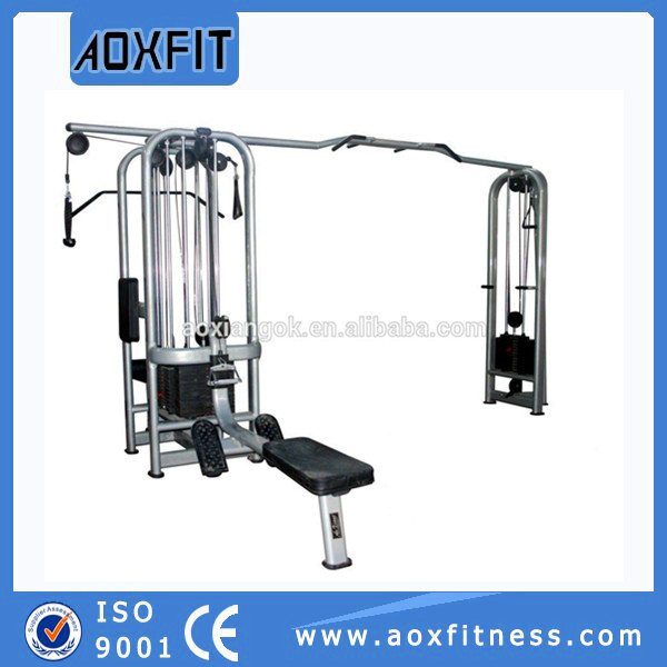 Haute Qualité Crossfit Muscule Formation Fitness Equipment Multi Jungle 5 Piles AX8824