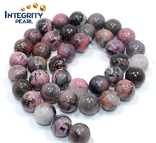 6mm 8mm 10mm 12mm Natura Red pattern stone Semifinished product Accessories loose beads