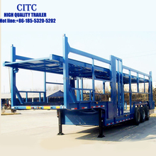 CITC high quality truck trailers for passenger cars carrier transport trailer for sale