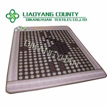 Health a-tech material thermo acupressure massage tourmaline mattress