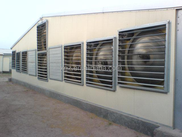 cheap steel structure chicken poultry house
