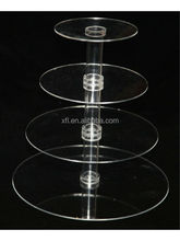 Modern Design Factory Hot Sell Acrylic Cupcake Display/Acrylic Wedding Cake Stands/Cup Cake Stand