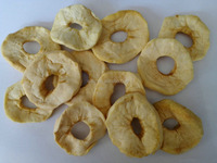 new crop dried apple ring with sulfured and unsulfured