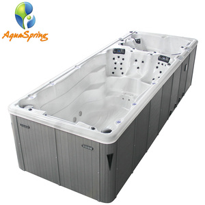 High grade free standing installation swim spa