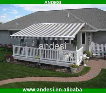 Retractable Awning Mechanism Pergola Patio Cover