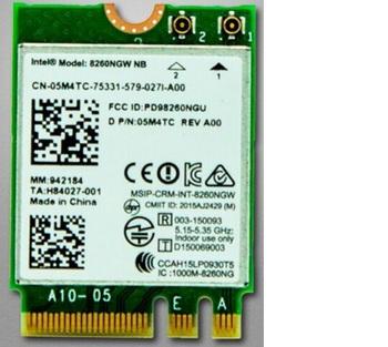 New Dual Band Intel 8265NGW WirelessNGFF 24G 5Ghz Wifi Bluetooth 42 867Mbps Wlan