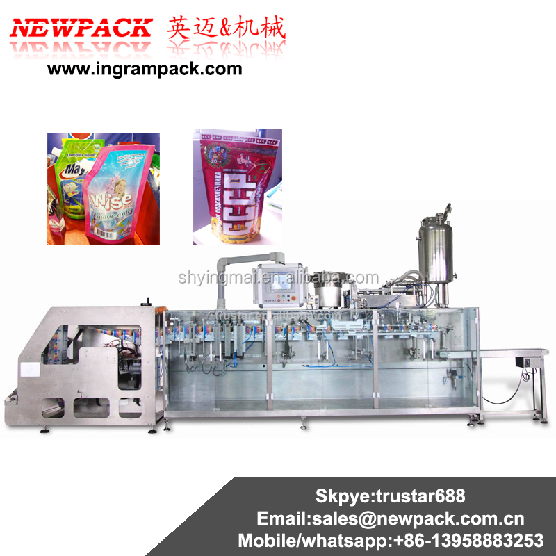 Horizontal Form Fill Seal sachet and doypack Milk powder Packaging Machine