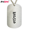 Dogtag Factory Wholesale Printed Engraved Metal Custom Dog Tag