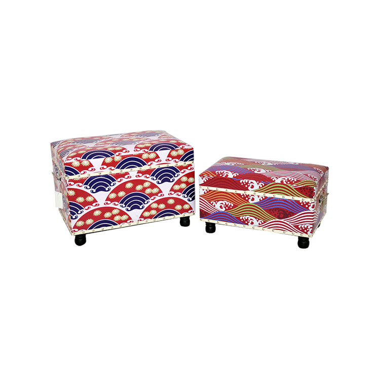 2015 hot sale india wooden wholesale ottoman