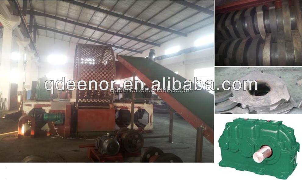 Waste Tire Recycling Line / Rubber Powder Making Machine / Crumb ...