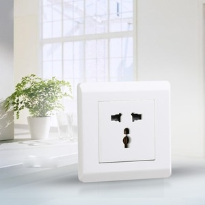 low power consumption Green multi electrical wall switch socket