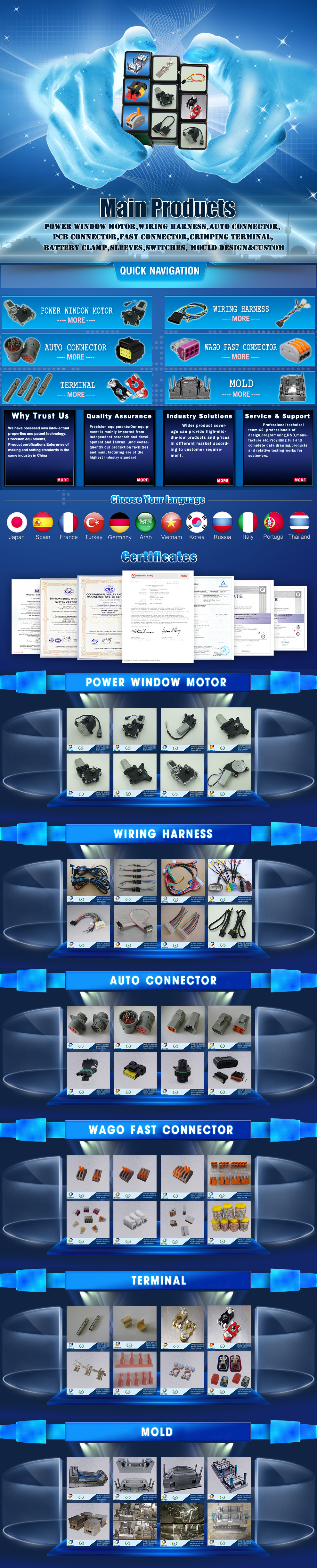 Yueqing Doyou Trading Co Ltd Wiring Harnessconnector Boeing Wire Harness