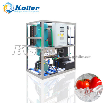 Koller Commercial Used 1 Ton Tube Ice Maker High Quality SUS304 Ice Tube Machine