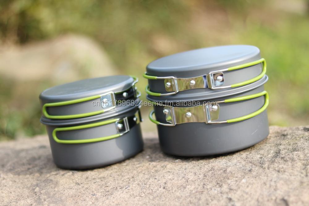 Meilleur du Camping Batterie De Cuisine-Mess Kit-Pots Casseroles ...