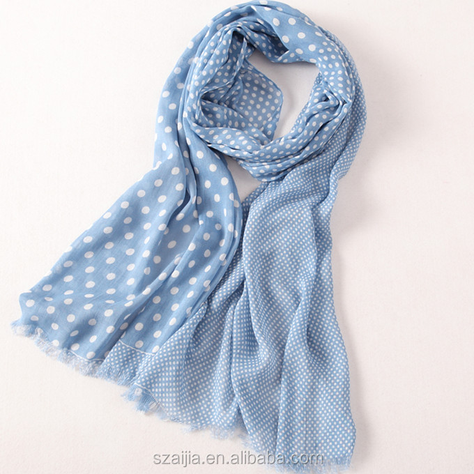 Fashion Spring autumn women's voile scarf