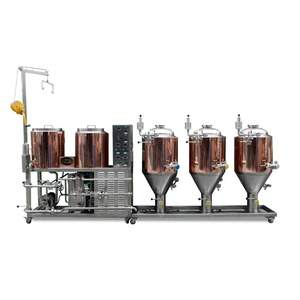 Full set beer brewing equipment 100l, home brewing equipment mini beer, beer brewing machine home