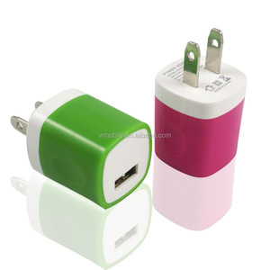 Hot Portable Mobile Phone Home Travel Single Port USB Wall Charger for iPhone Charger Adapter