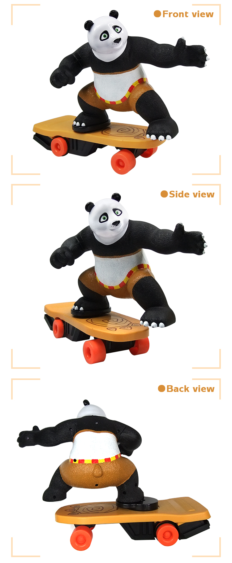 Newest Toy RC Remote Control Electric Skateboard Panda Toy