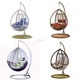 high quality garden balcony outdoor hanging egg shaped rattan wicker swing chair