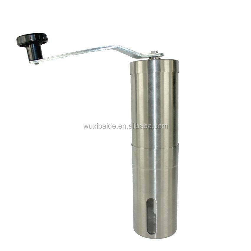 stainless steel coffee grinder from factory, coffee grinder OEM/ODM, fashion coffee grinder
