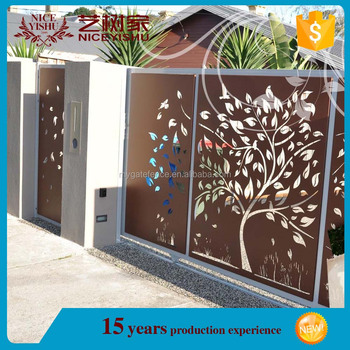 Unique Used Modern Laser Cut Gates For Sales Wrought Iron