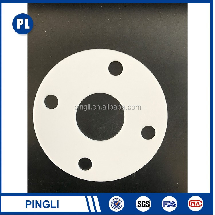 Multifunctional glass filled ptfe gaskets High security