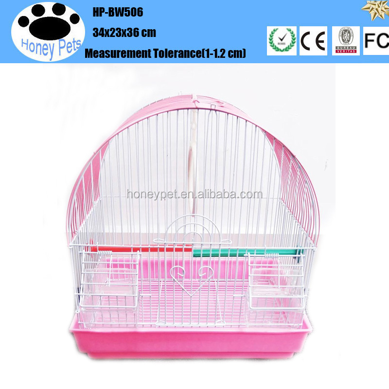 Wholesale Cage Hang Colorful iron birds cages