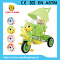 Hot sale new baby trike with lighting head Wholesale cheap children tricycle with music Rabbit head lovely baby tricycle