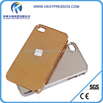 Blank sublimation electroplated case for iPhone 4/4S