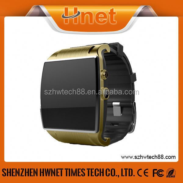 2015 New bluetooth watch with caller id with vibrating reminder,support earphone bluetooth headset watch