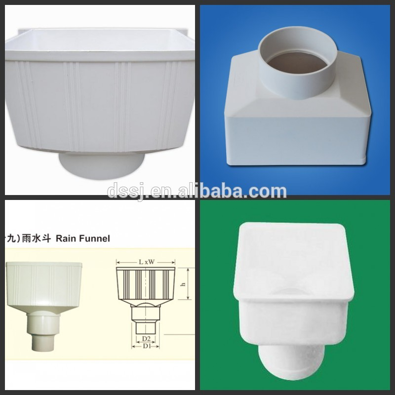 pvc pipe fitting square funnel buy pvc funnel pipe